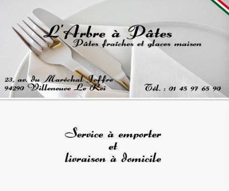 Restaurant L'arbre à pâtes Villeneuve le Roi